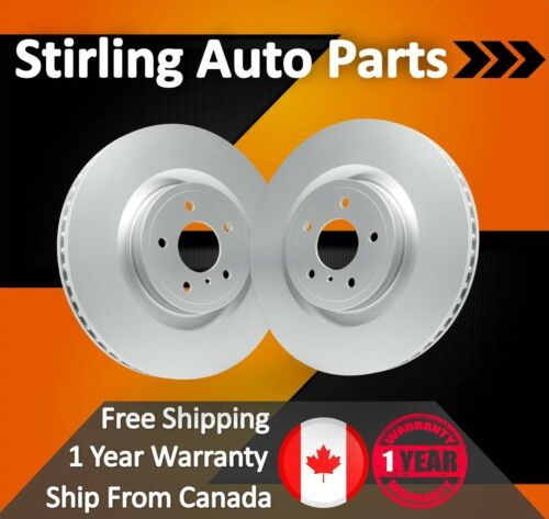 2013 2014 2015 for Nissan Pathfinder Coated Disc Brake Rotors Front Pair