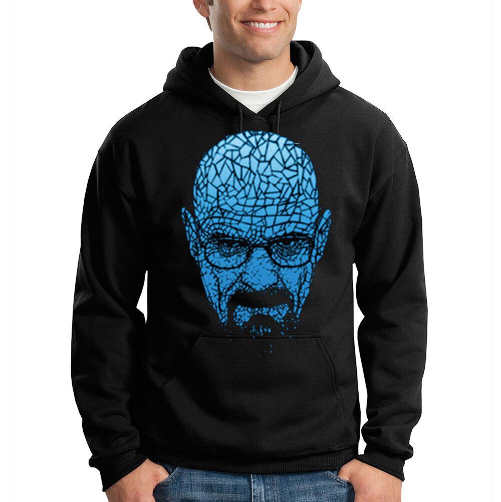 Breaking Bad Walter Weiß Blau Meth Cook Gangsta Hooded Sweatshirt Hoodie
