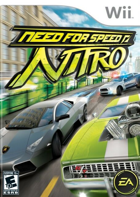 Need For Speed Nitro Wii Great Condition Complete Fast Shipping