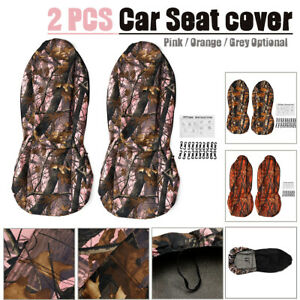 Camouflage-Camo-Car-Front-Seat-Cover-Protector-SUV-Van-Pickup-Truck-Off-Road