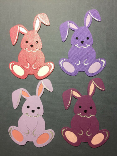 Big Rabbit Rabbits Pet Baby Nature Woods Toy Pets die cuts