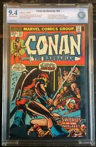 Conan-the-Barbarian-23-1973-CBCS-9-4-1st-Appearance-of-Red-Sonjia-CGC