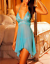 Sexy-lingerie-halterneck-chemise-babydoll-nightwear-sleepwear-thong-size-8-24 thumbnail 4