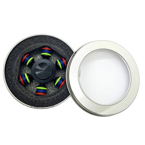 Spinner doigt Bangers main Focus portant SPIN aluminium EDC Autisme Toys Stress