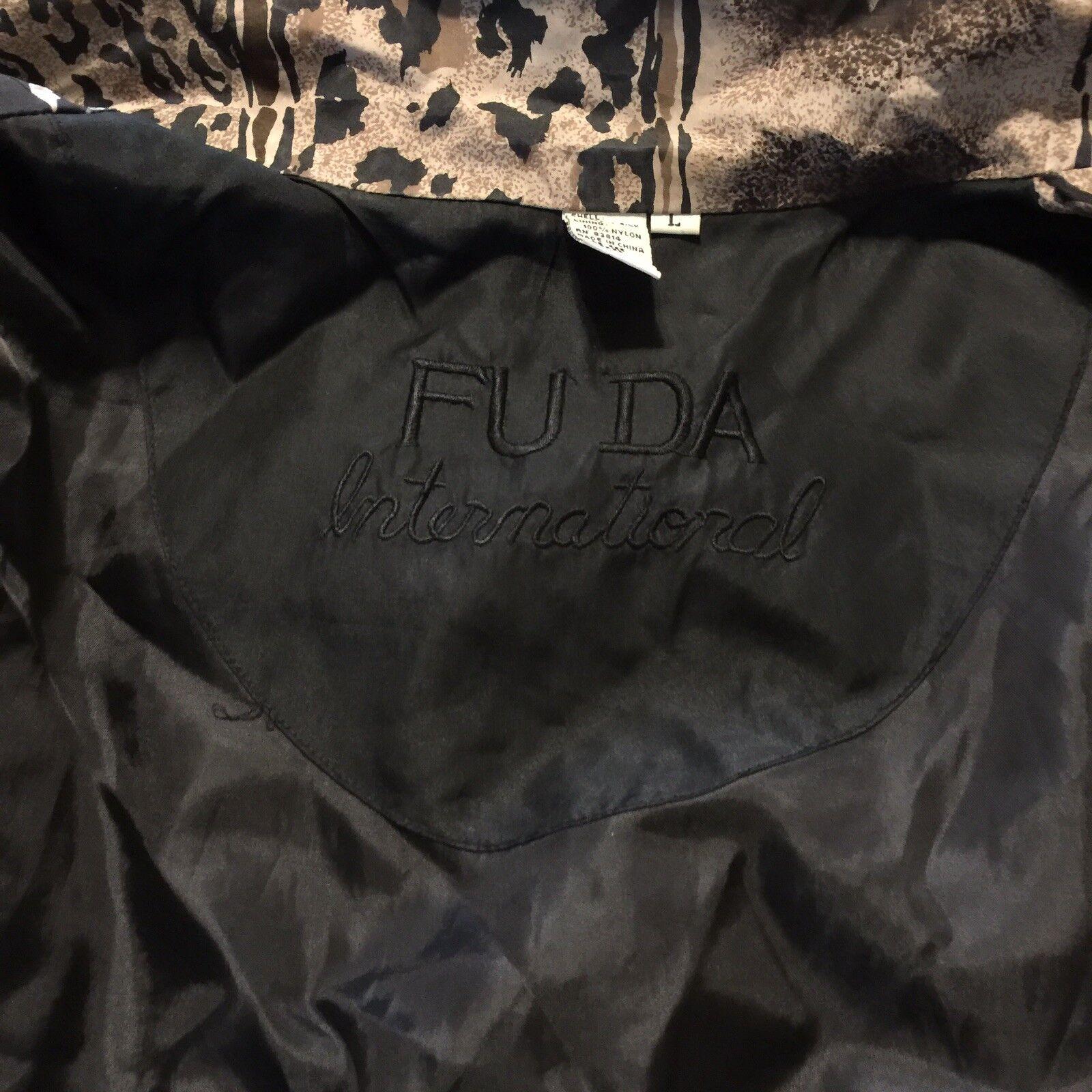 Women's Fuda International Zip Jacket ~ Sz L~ Ani… - image 9