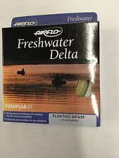 AIRFLO FRESHWATER DELTA FLOATING WF4/5F LITCHEN GREEN FLY LINE