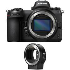 Nikon Z7 45.7MP FX-Format Full-Frame Mirrorless Camera Body + FTZ Mount Adapter