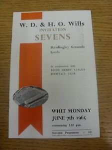 07-06-1965-Rugby-Union-Programme-7-A-Side-Leeds-Invitation-Tournament-At-Headi