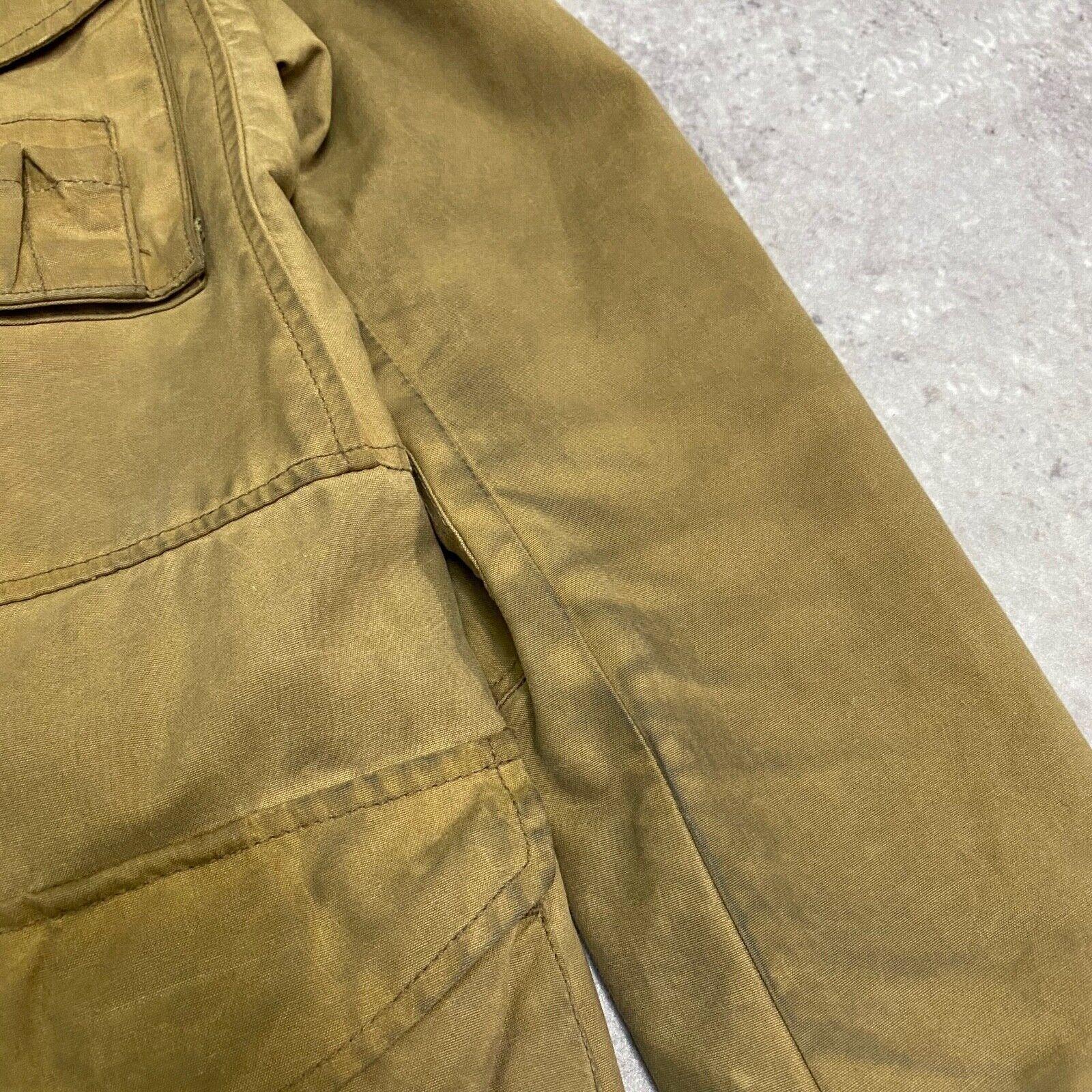 J.Crew Field Jacket Size XS Brown Wax Distressed - image 10
