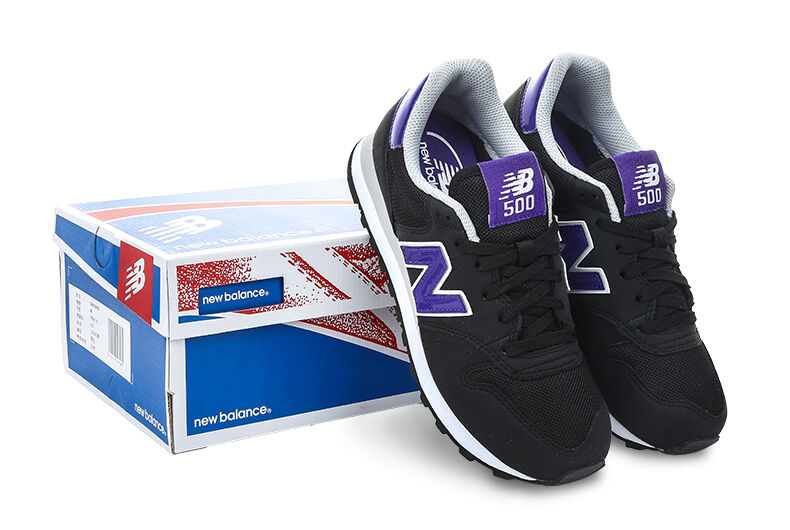 NEW BALANCE 500 MICROFIBER WOMENS LIFESTYLE SHOES