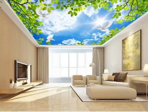 3D Der Himmel Tauben 43 Fototapeten Wandbild Fototapete BildTapete DE Lemon