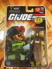 Zartan avec Swamp skieur Comic GI JOE COBRA 25th Anniversary Comme neuf on Card