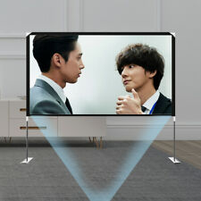 Projector Screen With Stand 100 Portable 1080p Hd Projection Screen Outdoor Us