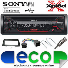 Peugeot 406 Sony CDX-G1200U CD MP3 USB AUX-in Ipod Iphone Coche Radio Stereo Kit
