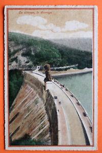 Belgien-AK-La-Gileppe-1931-Le-Barrage-Loewe-Talsperre-Technik-Architektur-BE7