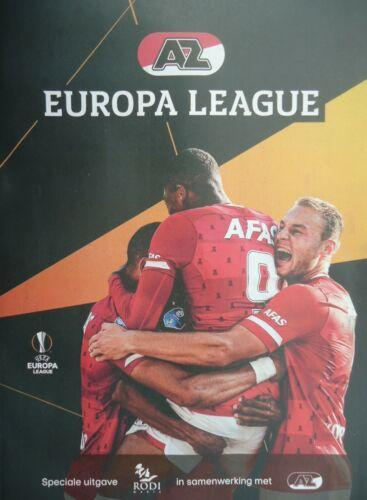 off Programm UEL 2019//20 AZ Alkmaar Manchester United FC Astana FK Partizan