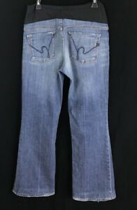 Citizens-of-Humanity-Maternity-Jeans-Womens-Size-32-Boot-Cut-Belly-Panel
