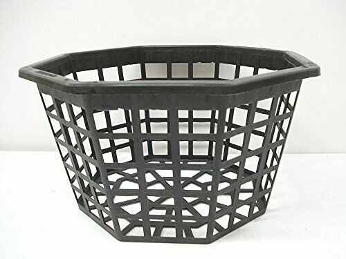 10 Inch Octagon Plastic Quantity of 25 Orchid Basket