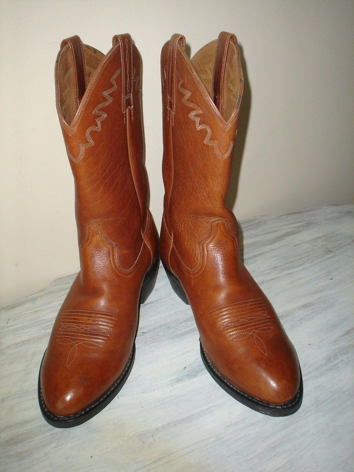 Ariat  Para hombre botas De Cuero Marrón  EE. UU. occidental D  Style Excelente