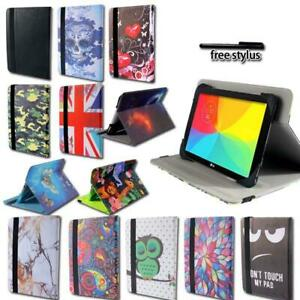 Per-7-034-8-034-10-034-LG-G-Tablet-Folio-Pad-in-Pelle-Rotante-Stand-Custodia-Stylus