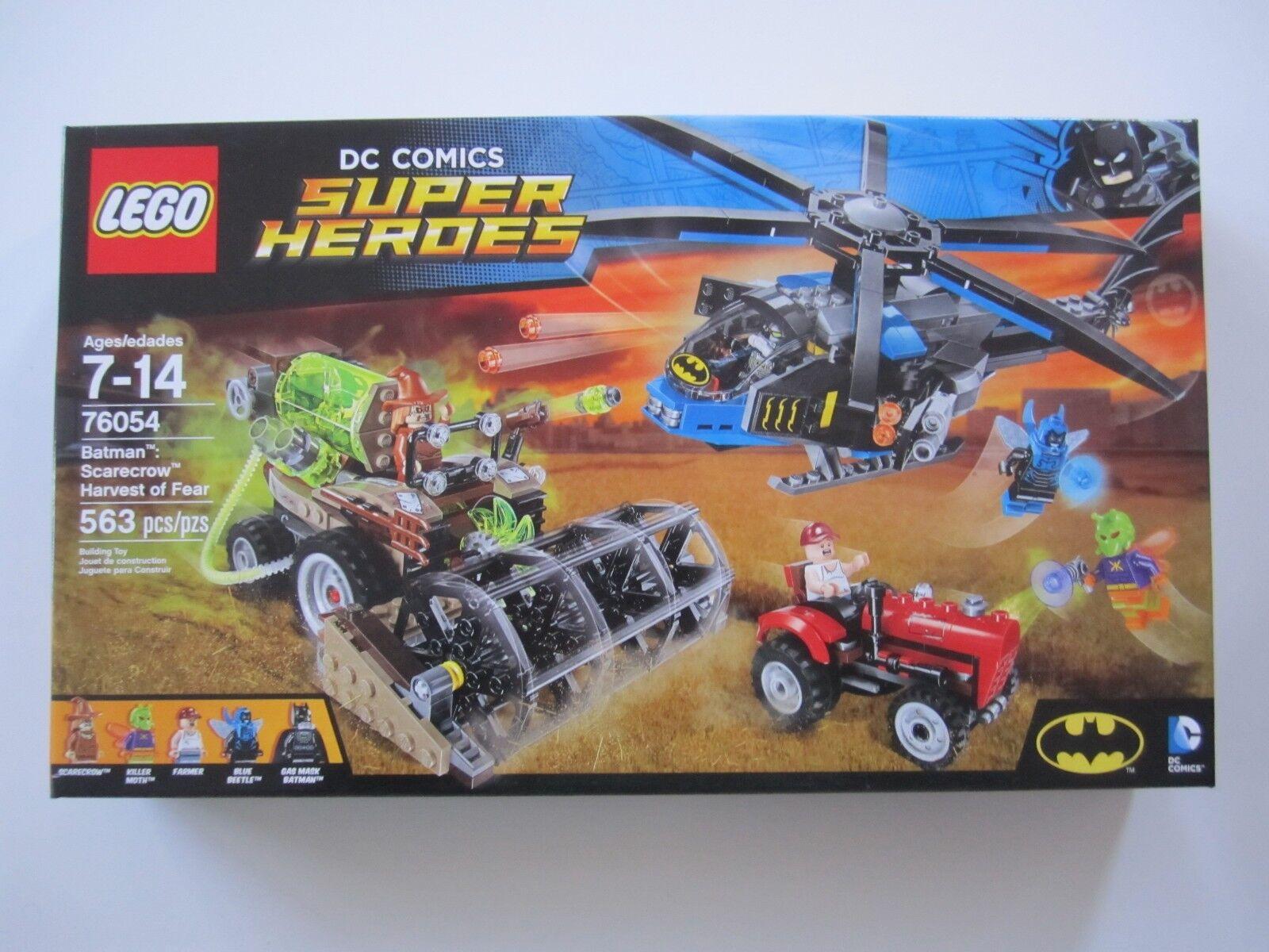 76054 LEGO DC Comics Super Heroes Batman  Harvest of Fear 563 Pieces New In Box