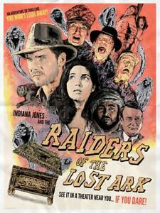 778b9144376 Indiana Jones Raiders of the Lost Ark Lithograph Poster Print Art ...
