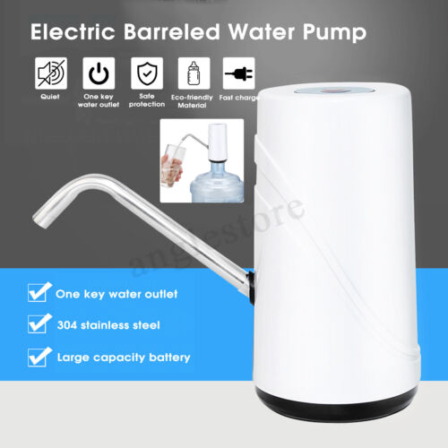 Electric Wireless Automatic Water Pump Dispenser Gallon Drinking Bottle Switch