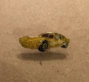 Lot Of (18) Yellow Vintage Race Racing Car Enamel Lapel Pin Pins