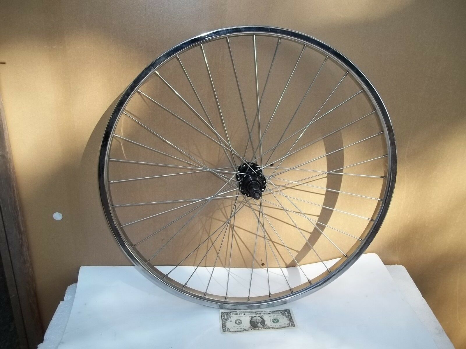 Unbranded 35 Metal Spoke Bicycle Bike Wheel - Good Condition
