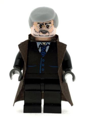 Custom Designed Minifigure Commissioner Gordon Printed On LEGO Parts