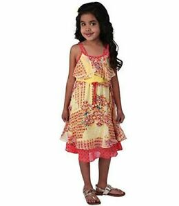 773a38f4bd2 Image is loading NEW-Jona-Michelle-Girls-Summer-Floral-Sun-Dress-