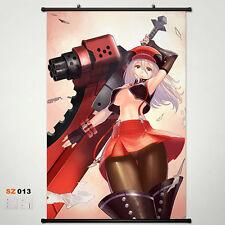 God Eater Alisa Wall Scroll Poster Home Decor Japan Anime Stoffposter 45x68CM