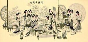 100-ORIGINAL-FAMOUS-ASIAN-FINE-ART-CHINESE-WATERCOLOR-PAINTING-Beauty-amp-Landscape