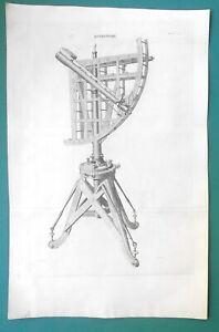 ASTRONOMY-Troughton-039-s-Astronomical-Quadrant-Telescope-1810-Antique-Print