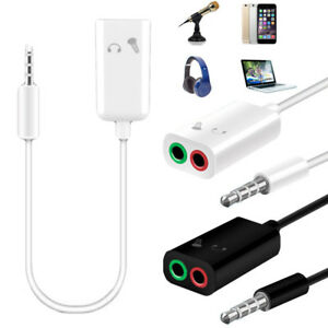 3-5mm-Audio-Mic-Splitter-Y-Cable-Headphone-Adapter-1-Male-Jack-To-2-Dual-Female