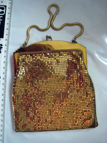 amp; Coloured Co With Gold Mesh Bag Crystals Usa Vintage Davis A1u2l4o7d10 Whiting 8qtxw4ZUg