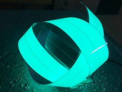 "2/""x 12/"" SlimeGreen EL TAPE Electroluminescent panel /&12 Volt Inver MFG IN USA!!"