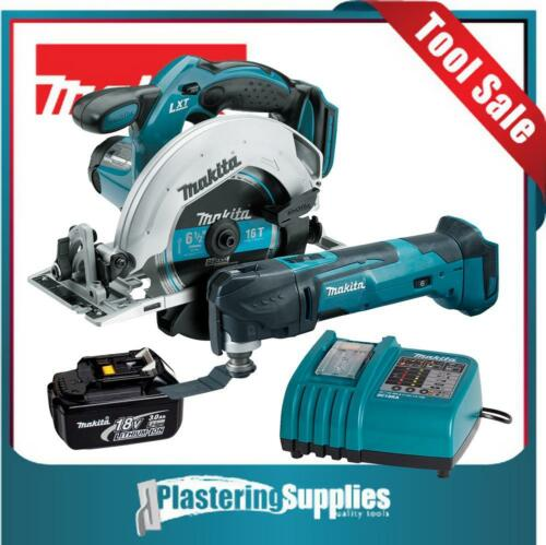 Makita LXT Cordless BSS611 Saw XMT03Z Multitool BL1830 Battery DC18RA Charger