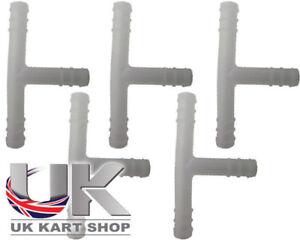 Tubo-Combustible-Plastico-T-piezas-Separador-x-5-UK-Kart-Store