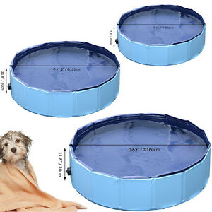 Swimming cat dog puppy indoor outdoor foldable 80 120 for Swimming pool 120 cm tief