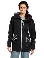 Women's Oakley MFR Marie_France Roy Ski Snowboard Jacket Size Black Green XS S