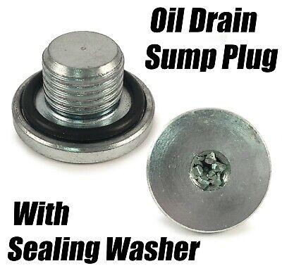 AUDI Car Engine Oil Drain Bolt and Washer Sump Plug 1x