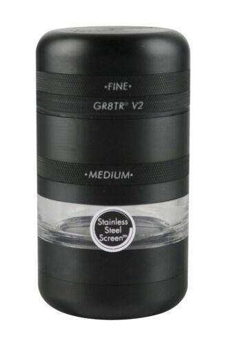 "2.2/""//Black Kannastor GR8TR V2 Grinder Jar Body"