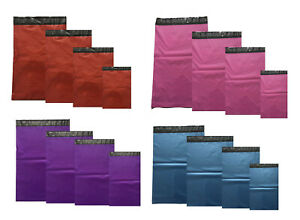 Strong-Grey-Coloured-Plastic-Mailing-Post-Poly-Postage-Bags-Self-Seal