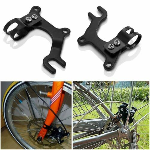 Adjustable Bike Frame Conversion Kit Bicycle Disc Brake Adapter Bracket Mountain