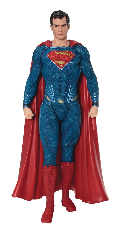 DC Comics Justice League Movie Superman Artfx+ Statue Kotobukiya
