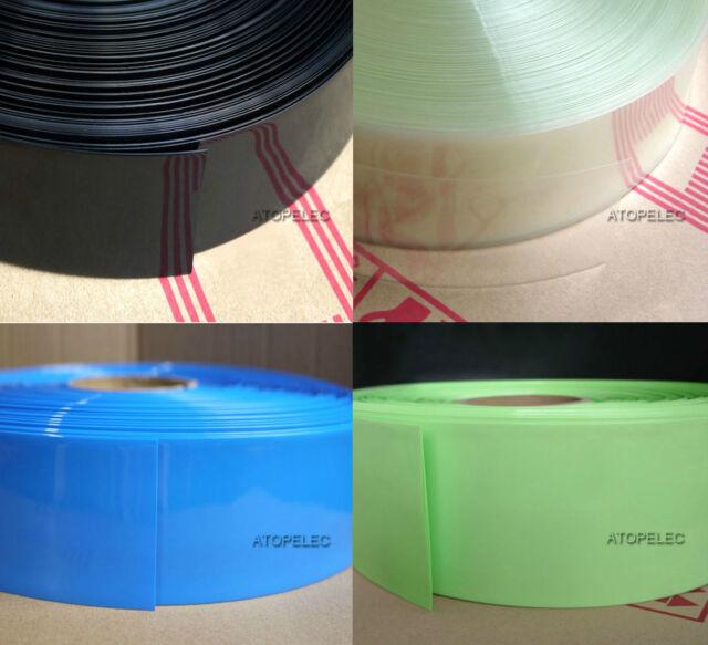 260MM Wide Φ165MM PVC Heat Shrink Tubing Battery Wrap