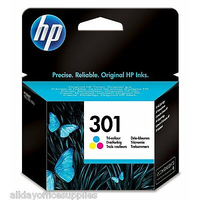 HP 301 (CH562E) Tri Colour Ink Cartridge HP Deskjet 1000, 1050, 2050, 3000, 3050