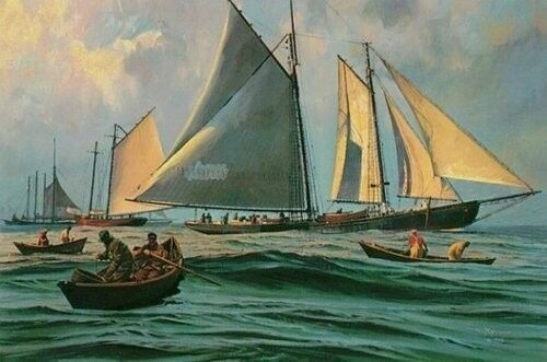 Limited Editions Mint Thomas Hoyne Sailing and Maritime Art Lithographs