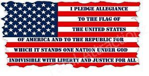 American Veteran Flag vinyl Sticker USA freedom patriotic liberty